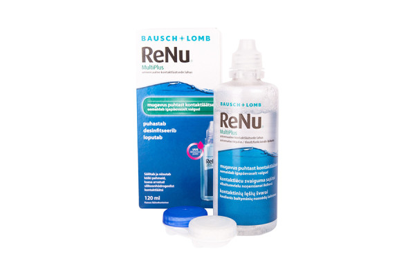Solutie intretinere lentile de contact Bausch & Lomb Renu Multi-Purpose 120 ml