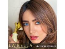 Lentile de contact colorate La Bella, 2 lentile/cutie, Exclusive-Chanel Blue - fara dioptrie, raza curbura 8.60 mm